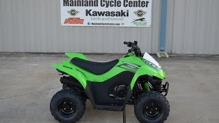 7. $1,999:  2015 Kawasaki  KFX 50 Yout ATV Overview and Review