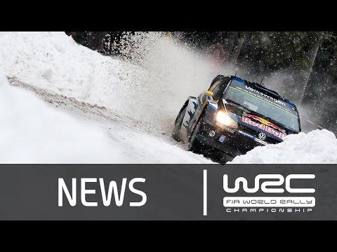 Vídeo resumen tramos 6-9 WRC Rallye Suecia 2015