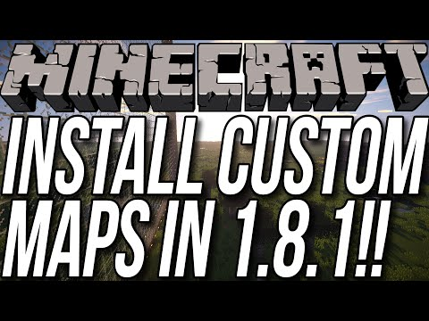 custom minecraft map downloads - In this video, I teach you exactly how to download and install custom maps in Minecraft 1.8.1. This will allow you to play all kinds of awesome custom maps i...