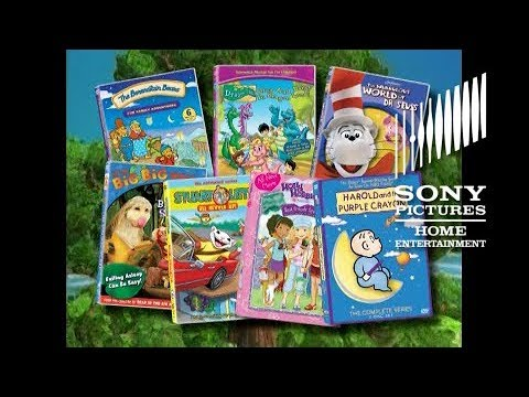Sony Pictures Home Ent./Sony Wonder - Family Fun promo - 2008 lineup (60fps)