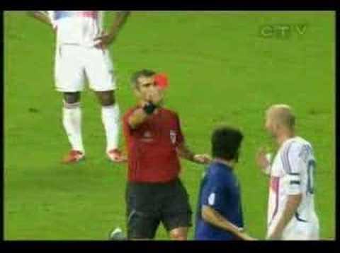 Zidane headbutts Materazzi - BEST ANGLE *****