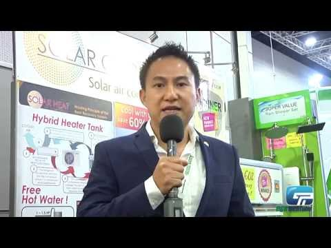 LG Global Building Material: Solar Cool Solar Air Conditioning