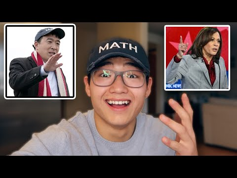 Kamala Dropped Out!(What It Means for Andrew Yang)
