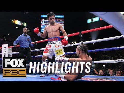 Manny Pacquiao vs. Keith Thurman Full Fight | HIGHLIGHTS | PBC ON FOX
