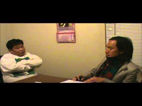 An exclusive talk show by Denzome Sampahang with Manoj Rai