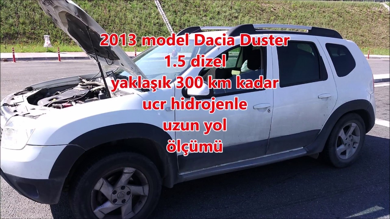 Dacia duster uzun yol ölçümü / UCR Hidrojen yakıt tasarruf