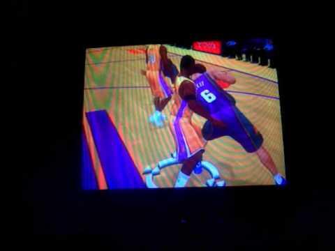 NBA 2K7 awkward moment