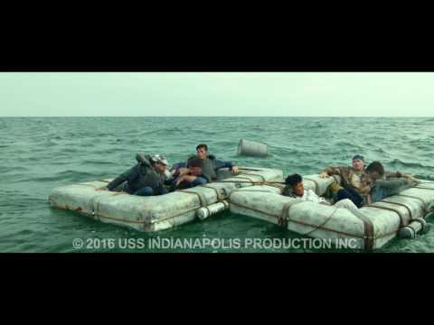 USS Indianapolis - Justin Nesbitt Shark kill scene in honor of Shark Week