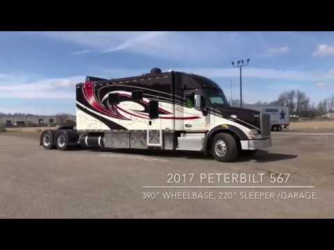 "Jerome And Barb Silvers 2017 Peterbilt/ 220"" Sleeper"