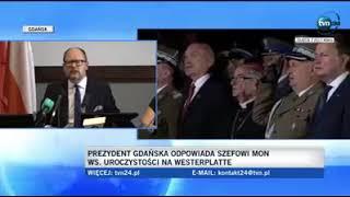 """Odpowiedź Prezydenta Gdańska dla """"ministra"""" Błaszczaka. Szacunek za odważne słowa! Brawo!"""""""