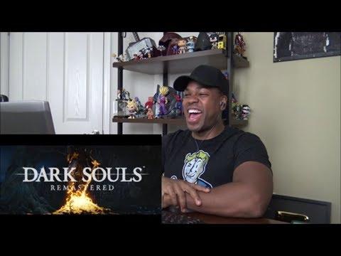 DARK SOULS: REMASTERED Announcement Trailer - REACTION!!!