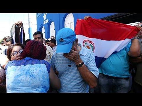Νεκρός διαδηλωτής στην Παραγουάη- Κλιμακώνεται η ένταση