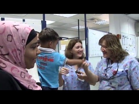 Children from Gaza with heart disease treated in Israel