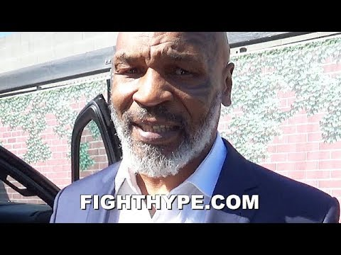MIKE TYSON SAYS ANDY RUIZ IS