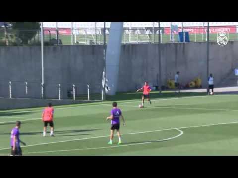 Сегодняшняя тренировка Реала (видео)