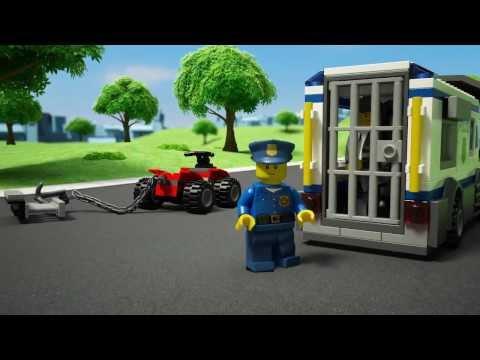 """Конструктор LEGO City 60048 """"Полицейский загон с собаками"""""""