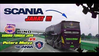 """Video INILAH BEDANYA SCANIA DAN HINO DI TREK LURUS TOL CIPALI By Sudiro Tungga Jaya """"MEKKA"""" MP3, 3GP, MP4, WEBM, AVI, FLV Januari 2019"""