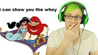 a whole new way... IM DONE | Reacting to Ugandan Knuckles memes
