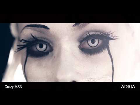 Crazy MSN - цветные линзы Adria, видео в линзах