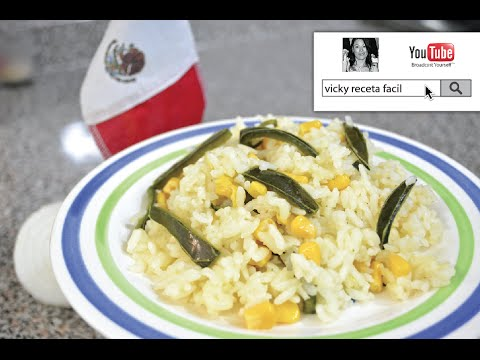 ARROZ BLANCO PERFECTO | Vicky Receta Facil