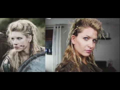 Vikings Lagertha Hair Tutorial
