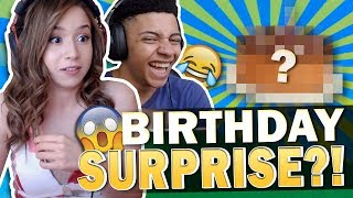 BIRTHDAY SURPRISE ?! I CAN'T BELIEVE HE DID THIS! Fortnite ft. TSM MYTH!