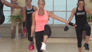 30 Minute Kettlebell workout: Slim Sculpting Preview with Kelly Coffey-Meyer