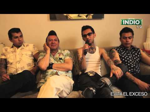INDIO TV: Rebel Cats, Odisseo y Silverio previo al Festival Marvin 2014
