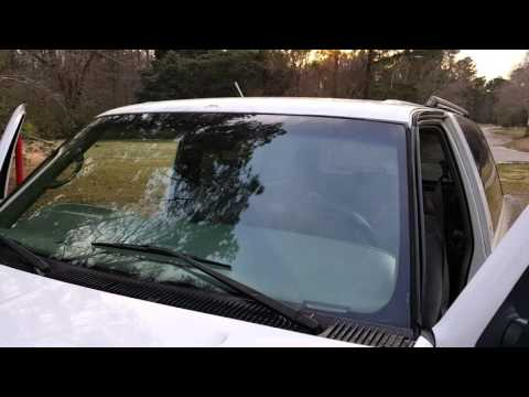 How to fix a Leaking Windshield  - DIY - Auto glass- 4x4 1990-1999 / 1997 Chevy Tahoe OffRoad SUV