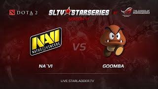 Na'Vi vs Goomba, game 1