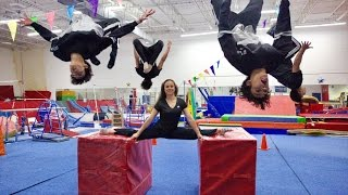 AMAZING GYMNASTICS TRICKS!
