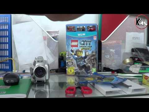 Unboxing Lego City Undercover Limited Edition (Wii U - Euro Version)