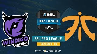 Windigo vs Fnatic - ESL Pro League S8 EU - bo1 - de_mirage [Anishared]