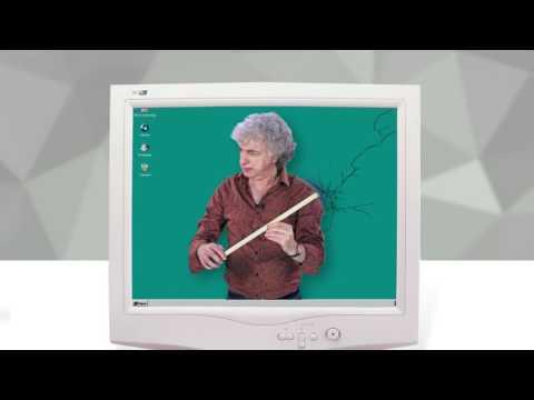От винта! - рекламный ролик мониторов LG [2017, \
