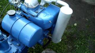 Самодельный глушитель на мотоблок МТZ-05