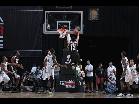 Summer League%3A Milwaukee Bucks vs San Antonio Spurs