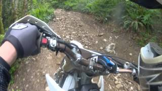 1. YZ250 2-stroke woods riding