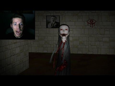 WORST JUMP SCARE EVER! (Eyes Horror Game) (видео)