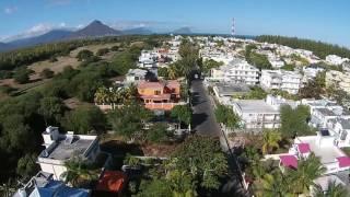 Flic-En-Flac Mauritius  city images : Drone footage in Flic en Flac , Mauritius