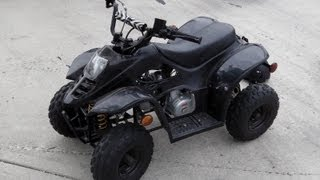 10. 110cc Gio Quad / ATV Top Speed Run