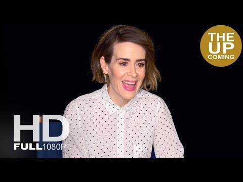 Sarah Paulson interview on The Post, Steven Spielberg, Meryl Streep and Tom Hanks