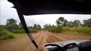 4. Rhino 660 short trail ride