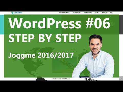 WordPress Tutorial German / Deutsch - WP Schritt für Sc ...