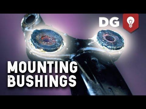 How To Make Polyurethane Mounting Bushings DIY (видео)
