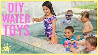 Tiga Cara Mudah Membuat Mainan Air Untuk Anak