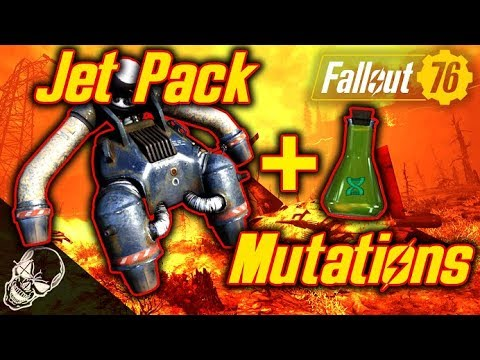JETPACK Location & Mutations To Use With It In Fallout 76