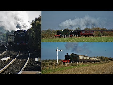Pannier Tank 9466 'The Dennis Howells Memorial Train' 20th October 2018