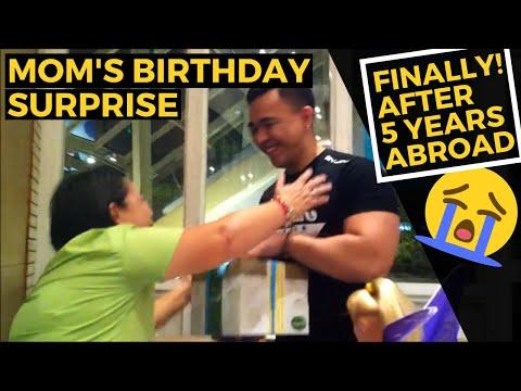 OFW HOMECOMING Surprising My Mom On Her Birthday! | My Schedule sa Next Vlog sa Pinas