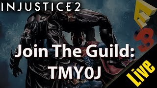 "Use the Guild ID: ""TMY0J"" To look for the guild in Injustice 2Join The Guild ID: TMY0JGuild Name: UNOInjustice 2 http://amzn.to/2rrYj0QMy Recording & Video Editing/Gaming & PC Setup✔ My Gaming Chair: http://amzn.to/2kpDYsl► Monitors: ASUS IPS 4K https://www.amazon.com/MG24UQ-4K%C2%A04ms-Ergonomic-Adaptive-Sync-Monitor/dp/B01BYU0GVC/ref=as_li_ss_tl?ie=UTF8&qid=1472067070&sr=8-1&keywords=mg24uq&linkCode=ll1&tag=theuntitledga-20&linkId=18244f4d1a44be4b7d03a205e26a83c5Seiki 39-Inch 4K Ultra HD http://www.amazon.com/s/ref=as_li_ss_tl?url=search-alias%3Daps&field-keywords=4k+seiki+&rh=i%3Aaps%2Ck%3A4k+seiki+&linkCode=ll2&tag=theuntitledga-20&linkId=b522eaa6bc329b78bcf5978aec735bae► PC Parts:Asus Strix ROG GeForce GTX 1070 https://www.amazon.com/ASUS-GeForce-STRIX-Graphic-STRIX-GTX1070-8G-GAMING/dp/B01HEQYQHA/ref=as_li_ss_tl?s=aps&ie=UTF8&qid=1476164026&sr=1-1-catcorr&keywords=Asus+Strix+ROG+GeForce+GTX+1070&linkCode=ll1&tag=theuntitledga-20&linkId=db41ed8449f688e2d55d728b88487da2Intel Core I7-6700K http://www.amazon.com/Intel-Boxed-I7-6700K-Processor-BX80662I76700K/dp/B012M8LXQW/ref=as_li_ss_tl?ie=UTF8&qid=1465115175&sr=8-1&keywords=Intel+Boxed+Core+I7-6700K+4.00+GHz+8M&linkCode=ll1&tag=theuntitledga-20&linkId=fecef6659cb7c7beb2fe4b3925803d9dASUS ROG MAXIMUS VIII HERO ALPHA http://www.amazon.com/MAXIMUS-VIII-HERO-ALPHA-Motherboards/dp/B017RI8UYA/ref=as_li_ss_tl?ie=UTF8&qid=1465115111&sr=8-1&keywords=ASUS+ROG+MAXIMUS+VIII+HERO+ALPHA&linkCode=ll1&tag=theuntitledga-20&linkId=feb8e63278e9526e0db46ded57dd0d0aEVGA GeForce GTX 980 4GB SC GAMING http://www.amazon.com/s/ref=as_li_ss_tl?url=search-alias%3Daps&field-keywords=EVGA+GeForce+GTX+980+4GB+SC+GAMING&linkCode=ll2&tag=theuntitledga-20&linkId=26d22adeb2644c79e329dcbfad7e6446Corsair Vengeance 32GB DDR4 3000MHz http://www.amazon.com/Corsair-32GB-3000MHz-Memory-Systems/dp/B014UYPEXE/ref=as_li_ss_tl?ie=UTF8&qid=1465115200&sr=8-1&keywords=Corsair+Vengeance+32GB+DDR4+3000MHz&linkCode=ll1&tag=theuntitledga-20&linkId=06c23a89549161dc8a19e85fad45e002ASUS Internal 24x Optical Drive http://www.amazon.com/s/ref=as_li_ss_tl?url=search-alias%3Daps&field-keywords=ASUS+Internal+24x+Optical+Drive+&linkCode=ll2&tag=theuntitledga-20&linkId=4d69589724520f4a0d34d58fe6480672be quiet! Silent Case http://www.amazon.com/s/ref=as_li_ss_tl?url=search-alias%3Daps&field-keywords=be+quiet!+Silent+&rh=i%3Aaps%2Ck%3Abe+quiet!+Silent+&linkCode=ll2&tag=theuntitledga-20&linkId=21388be2fffb99fd0da6bc416bd295b9AVerMedia Live Gamer HD http://www.amazon.com/s/ref=as_li_ss_tl?url=search-alias%3Daps&field-keywords=AVerMedia+Live+Gamer+HD&rh=i%3Aaps%2Ck%3AAVerMedia+Live+Gamer+HD&linkCode=ll2&tag=theuntitledga-20&linkId=5e01e101aec770a25e8ec77945bdd4f1H100i http://www.amazon.com/Corsair-Extreme-Performance-Liquid-Cooler/dp/B019EXSSBG/ref=as_li_ss_tl?s=videogames&ie=UTF8&qid=1465117377&sr=8-1&keywords=H100I+GTX&linkCode=ll1&tag=theuntitledga-20&linkId=b636db49a740f6a4af629e2e60abda24► Drives:Samsung 850 EVO 500GB SSD http://www.amazon.com/Samsung-2-5-Inch-Internal-MZ-75E500B-AM/dp/B00OBRE5UE/ref=as_li_ss_tl?s=pc&ie=UTF8&qid=1465115355&sr=1-1&keywords=Samsung+850+EVO+500GB+SSD&linkCode=ll1&tag=theuntitledga-20&linkId=3ebab287597965ba5a54609a27fd9a34Samsung 850 EVO 250GB SSD http://www.amazon.com/Samsung-2-5-Inch-Internal-MZ-75E500B-AM/dp/B00OBRE5UE/ref=as_li_ss_tl?s=pc&ie=UTF8&qid=1465115355&sr=1-1&keywords=Samsung+850+EVO+500GB+SSD&linkCode=ll1&tag=theuntitledga-20&linkId=3ebab287597965ba5a54609a27fd9a34hitachi 1TB Desktop HDD http://www.amazon.com/s/ref=as_li_ss_tl?url=search-alias%3Dcomputers&field-keywords=hitachi+1TB+Desktop+HDD+&linkCode=ll2&tag=theuntitledga-20&linkId=32d20446c7340f21be9dd3e60e6ec5e0WD 1TB Desktop HDD http://www.amazon.com/s/ref=as_li_ss_tl?url=search-alias%3Dcomputers&field-keywords=WD+1TB+Desktop+HDD+&rh=n%3A541966%2Ck%3AWD+1TB+Desktop+HDD+&linkCode=ll2&tag=theuntitledga-20&linkId=789db0aed8abb8b67c4fd19099b3e0ed► AccessoriesUSB Typ C Hub http://www.amazon.com/gp/product/B00XBDXU78/ref=as_li_ss_tl?ie=UTF8&linkCode=ll1&tag=theuntitledga-20&linkId=df5b5f49f4cdcfa7be7ee892f9da2bafSanDisk 16GB USB Flash Drive http://www.amazon.com/SanDisk-Cruzer-Frustration-Free-Packaging--SDCZ36-016G-AFFP/dp/B007JR5368/ref=as_li_ss_tl?s=pc&ie=UTF8&qid=1465115452&sr=1-4&keywords=16GB+FLASH&linkCode=ll1&tag=theuntitledga-20&linkId=dfe9dc0ab271d1a4d2cbfdf2385683c7HTC Vive: http://www.amazon.com/s/ref=as_li_ss_tl?url=search-alias%3Daps&field-keywords=HTC+Vive&rh=i%3Aaps%2Ck%3AHTC+Vive&linkCode=ll2&tag=theuntitledga-20&linkId=68077cb02016ee02218cf2ed23573d0cDONATIONS ► https://streamtip.com/y/untitledgameshowPLAYLISTS ► https://www.youtube.com/user/Untitledgameshow/playlists"