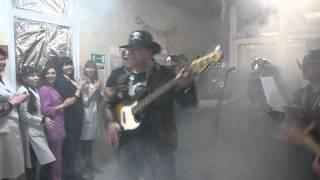 """Выступление """"Рок-звезд"""" Станция переливания крови, Оренбург, 8 марта 2013 г."""